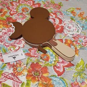 Mickey ears ice cream change purse.